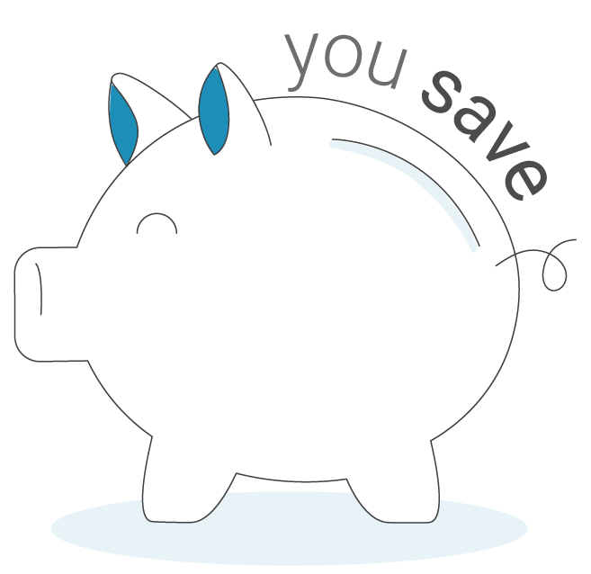 Allocate your preferred savings amount